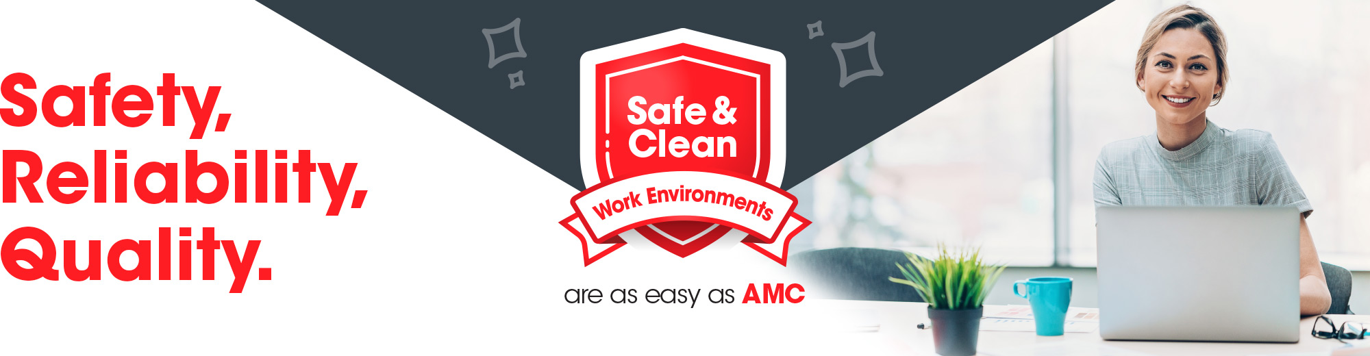 Safety, reliability, quality AMC Commercial Cleaning New Zealand